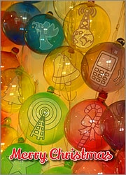 Cellular Glass Ornaments