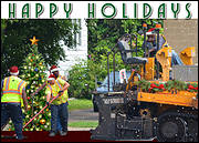 Asphalt Holiday Card