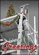 Bricklayer Christmas Card