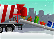 Candy Cane Concrete Mixer