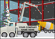 Cement Company Christmas Card