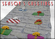 Concrete Stamping Holiday Card