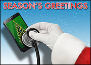 Diagnostic Cell Holiday Card