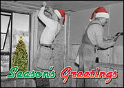 Drywall Christmas Card