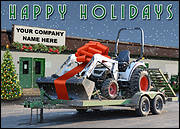 Equipment Rental Holiday Card