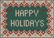 Happy Holidays Tile