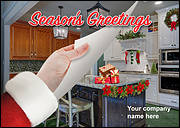 Holiday Remodeling Christmas Card