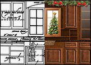 Kitchen Remodel Christmas Card