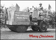 Paving Christmas Card