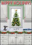 Remodeled Kitchen Holiday Card