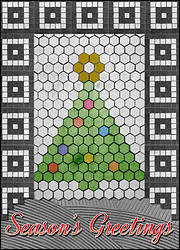 Tile Christmas Tree