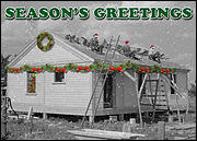 Vintage Roofing Christmas Card