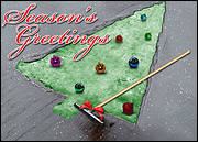 Waterproofing Christmas Tree Card